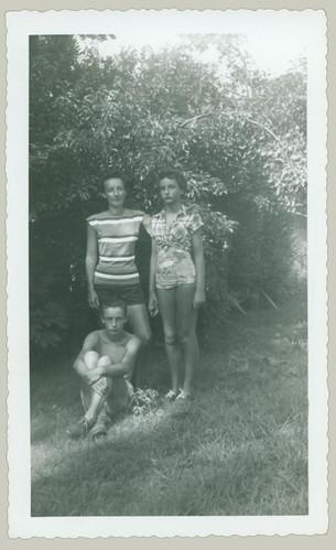Three Posing