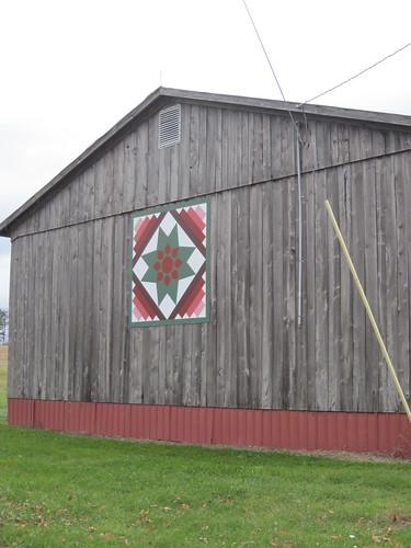 Amish Dahlia Barn Quilt