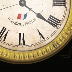 Wooden Clock: France!