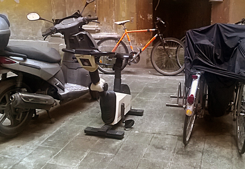 stationary bicycle - Rome
