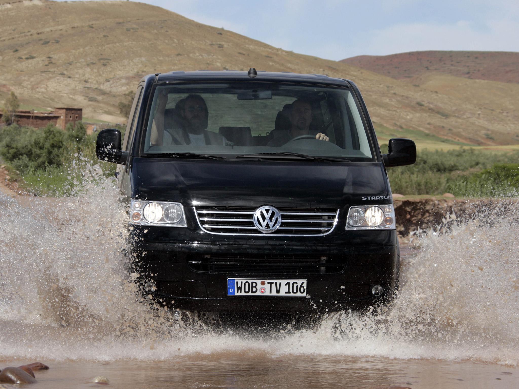 Минивэн Volkswagen T5 Multivan Startline. 2006 - 2009 годы