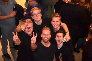 Alexander, Johannes, Gustav, Hannes och Oscar