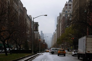 rainy afternoon Manhattan