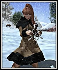 Free coat - Nina - Free group gift hair Elikitara