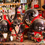 Vodou Art at the Marche en Fer - Port-au-Prince, Haiti