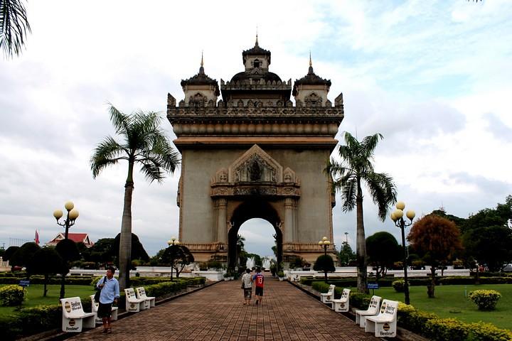 Patuxai de Vientiane