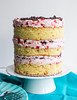 Strawberry Vanilla Layer Cake