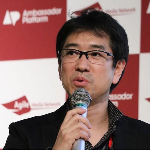 ファシリテーターは、AMNの藤崎さん。 #アンバサダーサミット