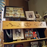 Photos of the monument and gift shop