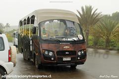 Bus Ara Moai (Maururu Travel) | Anakena | Inrecar G�minis - Chevrolet / HJRY62