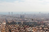 Barcelona behind the barb wire
