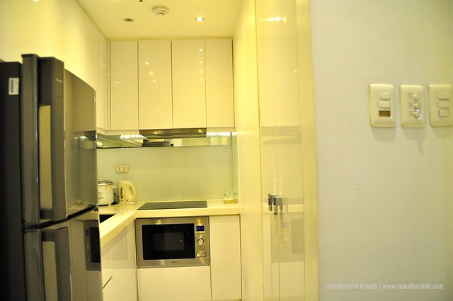 Kitchen Area at Alcoves 10 Makati