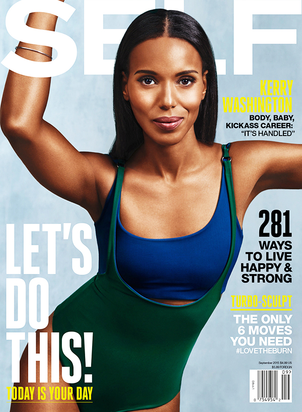 SELF MAGAZINE SEPTEMBER 2015 COVER