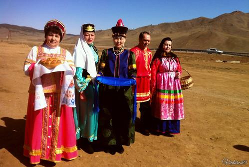 Merkitskaya krepost. Buryatia. Russia