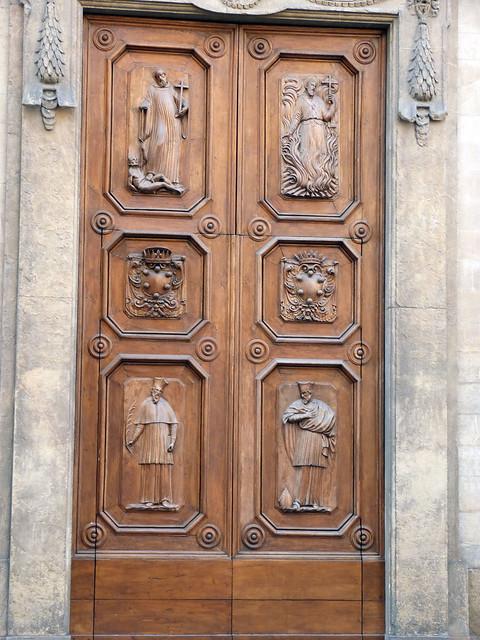 porte de la basilique santa trinita