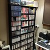 First shelves up, not sorted yet bur)t still looks a lot better #retrogaming #sega #sony by pixelnotion