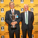 Alan Eustace (USA), Breitling Milestone Trophy winner and Brian Jones, Special guest