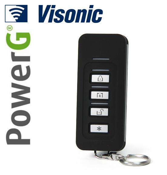 Visonic Powermaster Kf 235 Pg2 Wireless Keyfob Transmitter