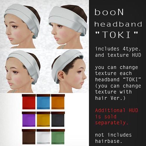 booN headband TOKI