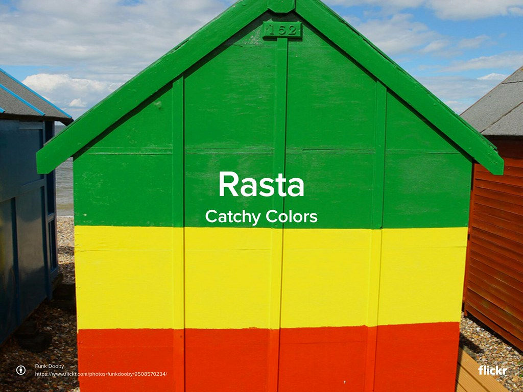 Catchy Colors: Rasta