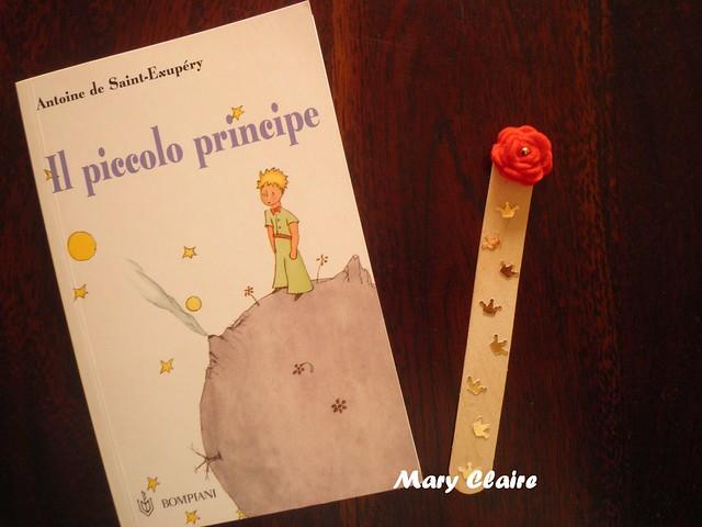 Il piccolo principe con segnalibro