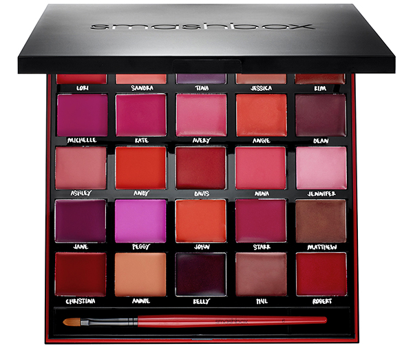 Smashbox For Twenty Five Years Our Lips Have Been Sealed Palette Review and Swatches