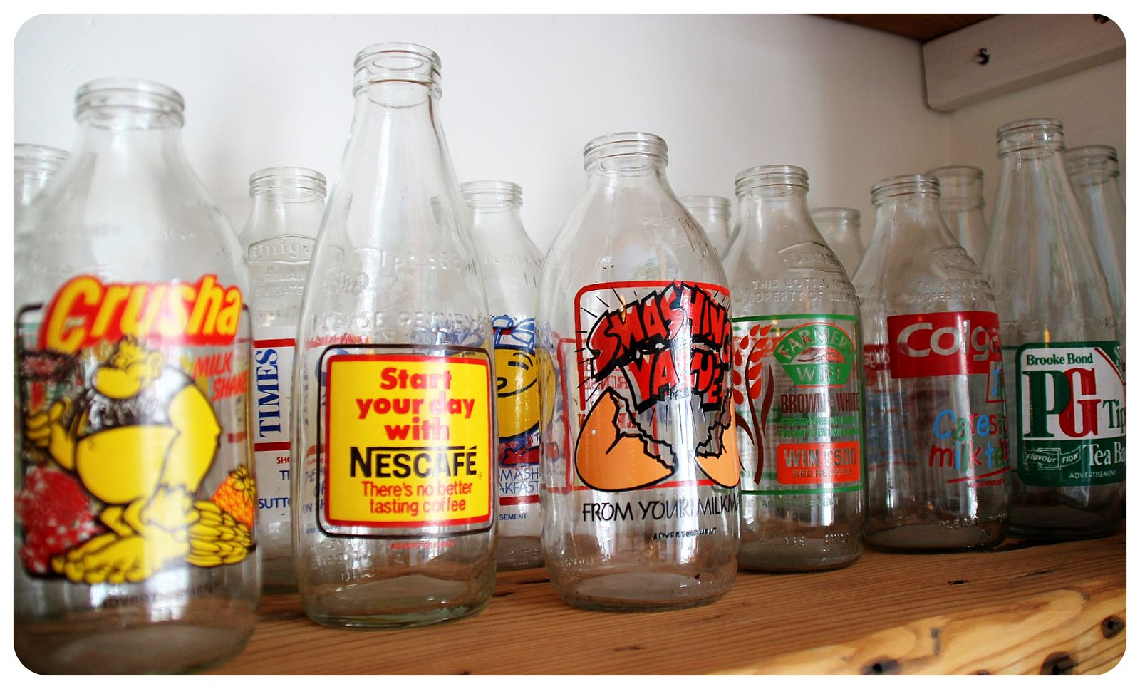 snooze b&b brighton bottles