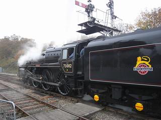 73082 Camelot at Horsted Keynes