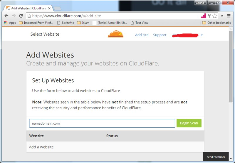 1. Cloudflare