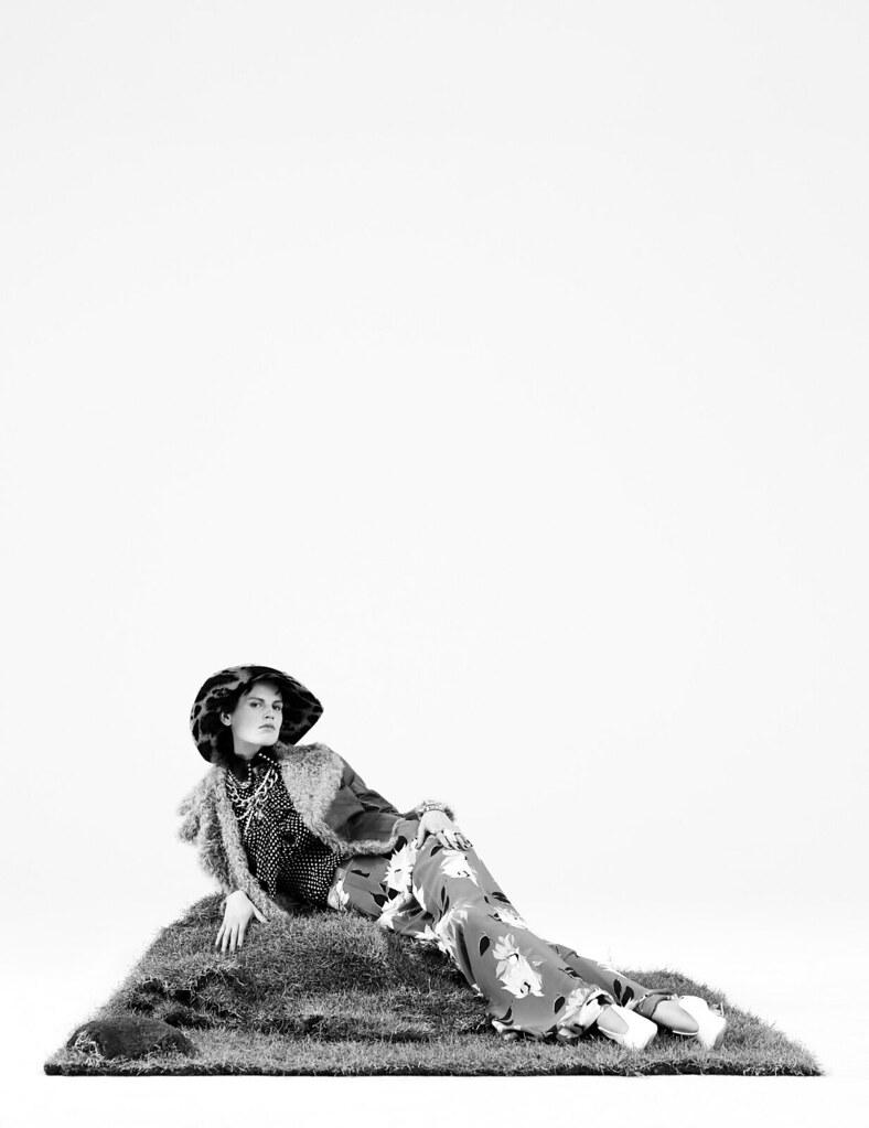 Саския де Брау — Фотосессия для «W» 2015 – 2