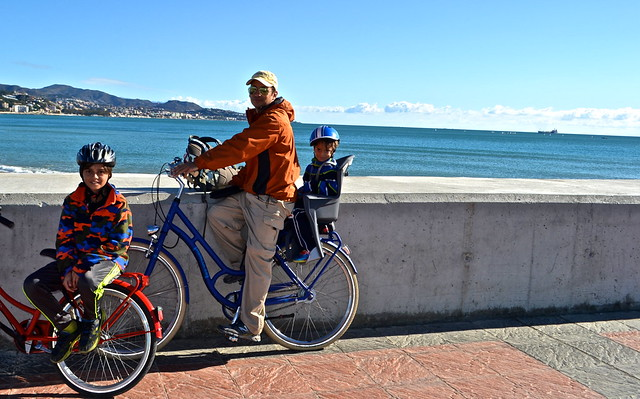 Day Trips From Malaga - bike rental - malaga beaches