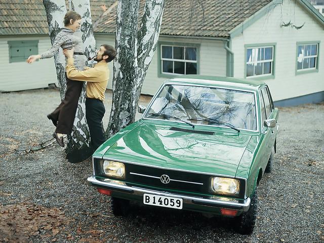 Переднеприводный Volkswagen K70 (Typ 48). 1971 – 1973 годы