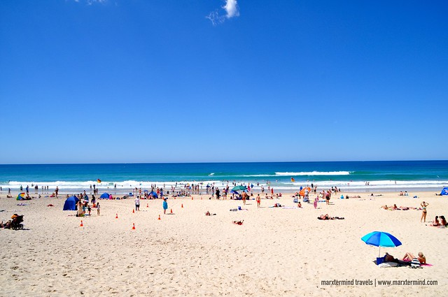 The Crowd at Main Beach Gold Coast