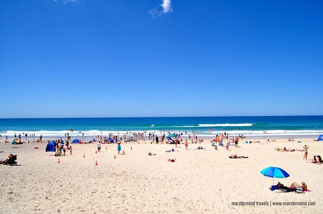 The Crowd at Main Beach Gold Coast