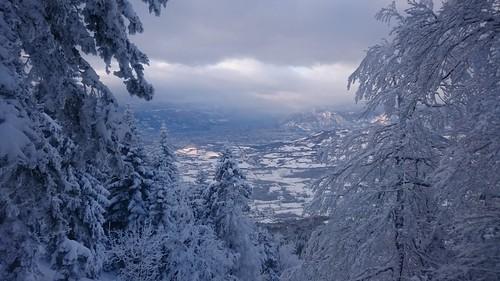 Pied du Pic de l'Oeilly, Isère, France