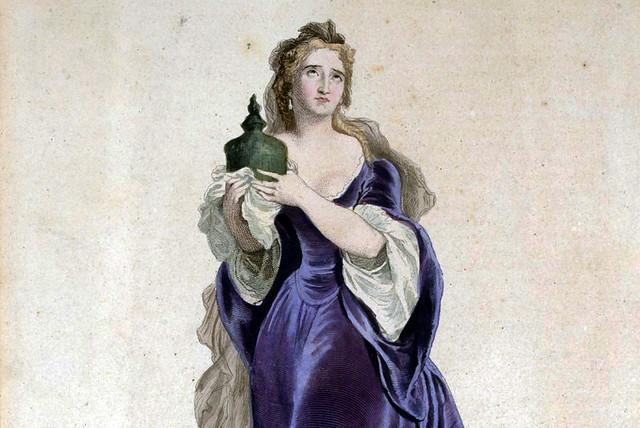 Adrienne Lecouvreur, 1717–9. Source gallica.bnf.fr/Bibliothèque nationale de France