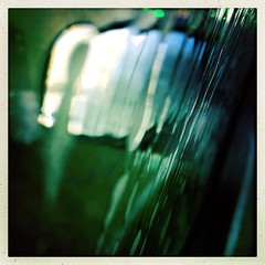 #carwash #hipstamatic #water #blur #windshield #backlight #magical #mysterious