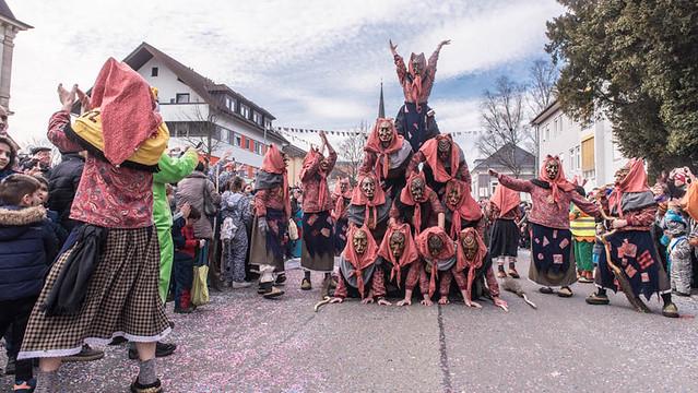 Fasnachtsumzug Müllheim 2017