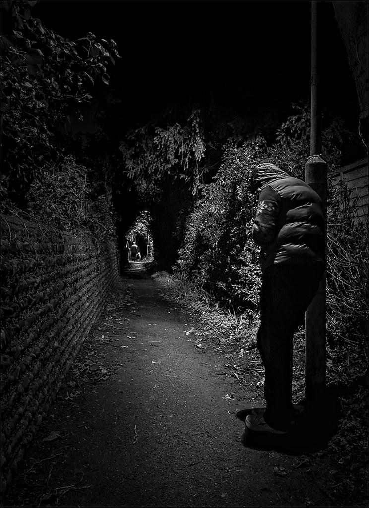Stranger lurking