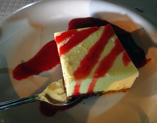 Mesón de Casa Pepe on the Ribeira Sacra 'Menu del Dia' Cheesecake
