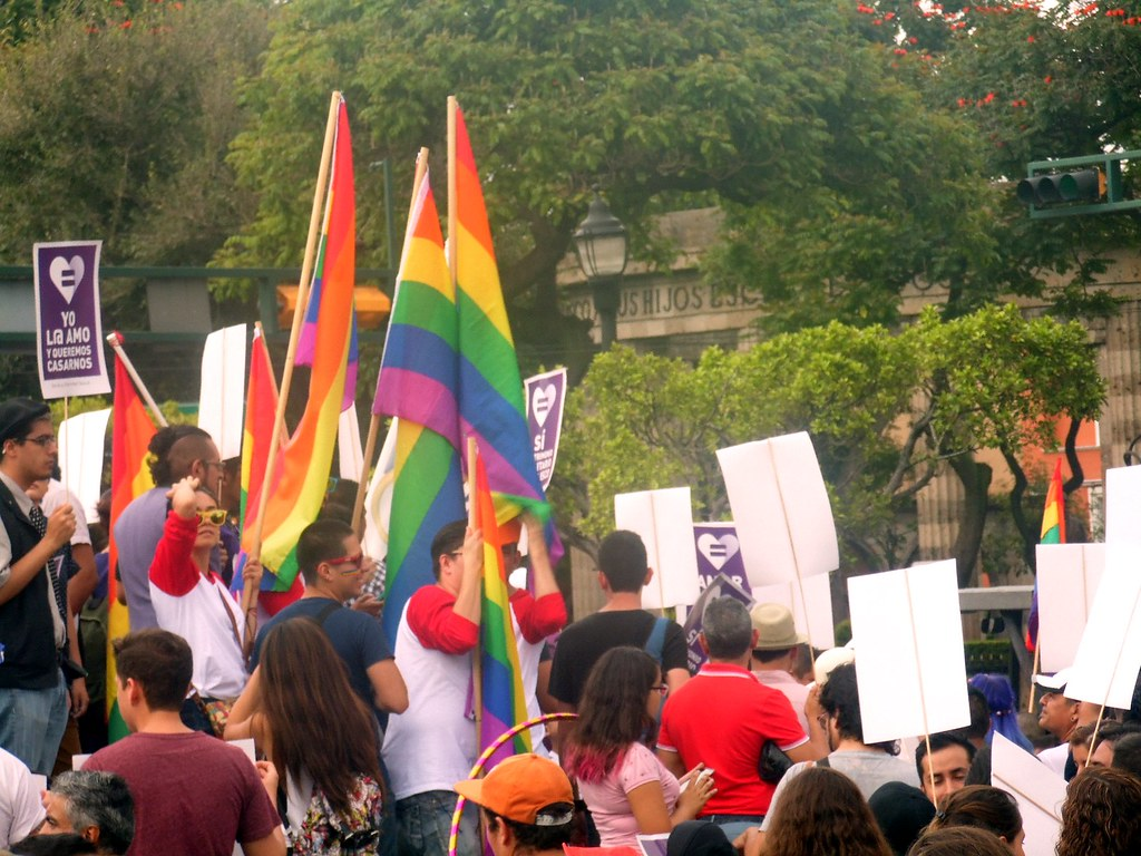 Marcha a favor del matrimonio igualitario, 22 de agosto.