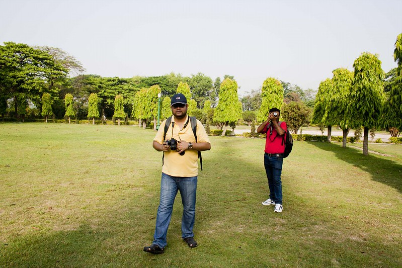 Photographers Sumit & Anirban at Victoria Memorial - Kolkata, India