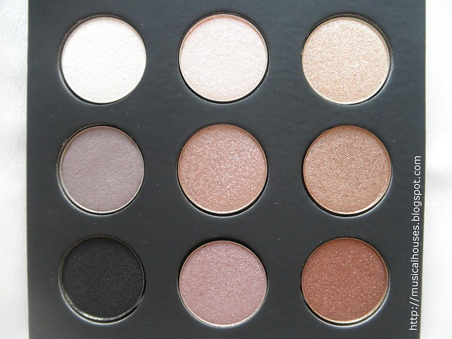 MUFE Artist Shadow Palette 1 Closeup