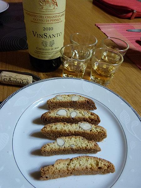 vin santo et cantitucci
