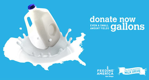 Milk Donations for Local Food Banks #ad