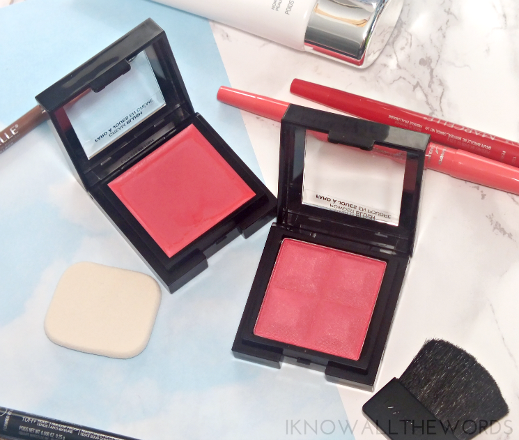 marcelle powder blush an cream blush in pink mademoiselle (1)