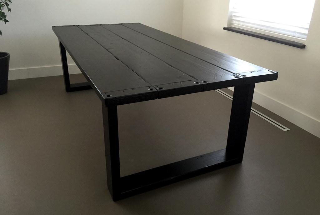 Te Koop Tafel : Eettafel raw xl zwart te koop bij w tdesign flickr