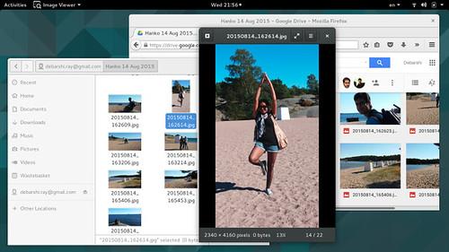 Google Drive integráció a GNOME-ban