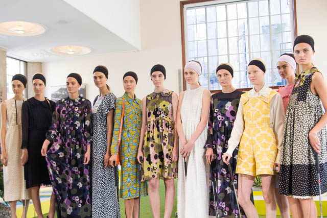 Orla Kiely London Fashion Week presentation