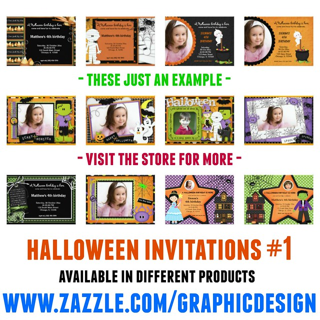Halloween Invitations 1